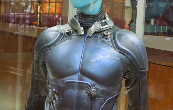 Electro costume collar Amazing Spiderman 2