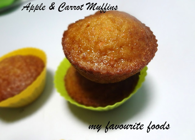 Apple&Carrot Muffins