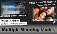 Camera ZOOM FX  Addons ANDROID 1.5