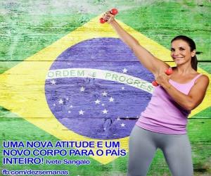 Body Change 10 Semanas nova dieta de Ivete Sangalo
