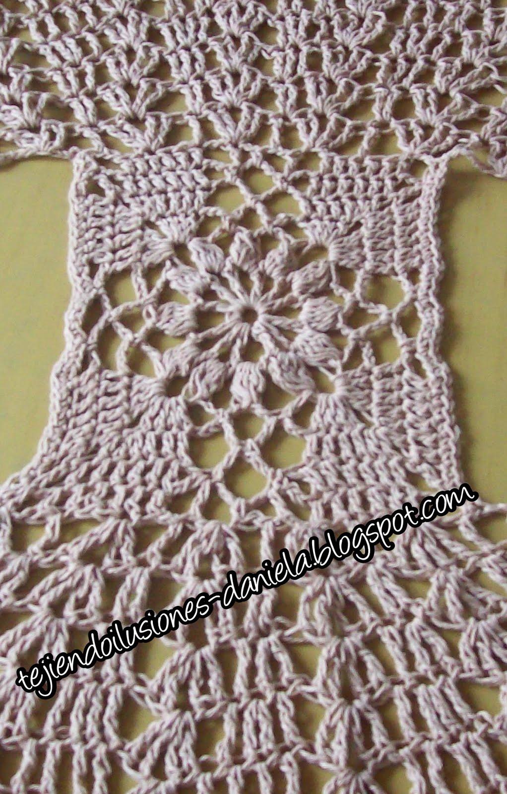 tejido crochet y artesan as chalecos redondos