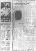 """29 SETTEMBRE 1932 """"LA VOCE DI BERGAMO"""""""