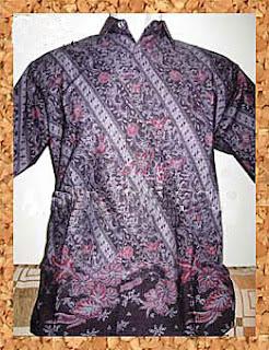Model Baju Batik Modern Terbaru  Pria