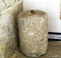 Pesa pequeña del reloj antiguo de CandelarioSalamanca