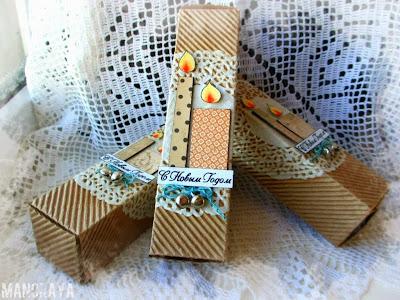Декоративные скворечники из картона