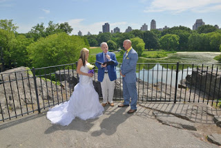 Belvedere Castle - Wedding Ceremony in Progress