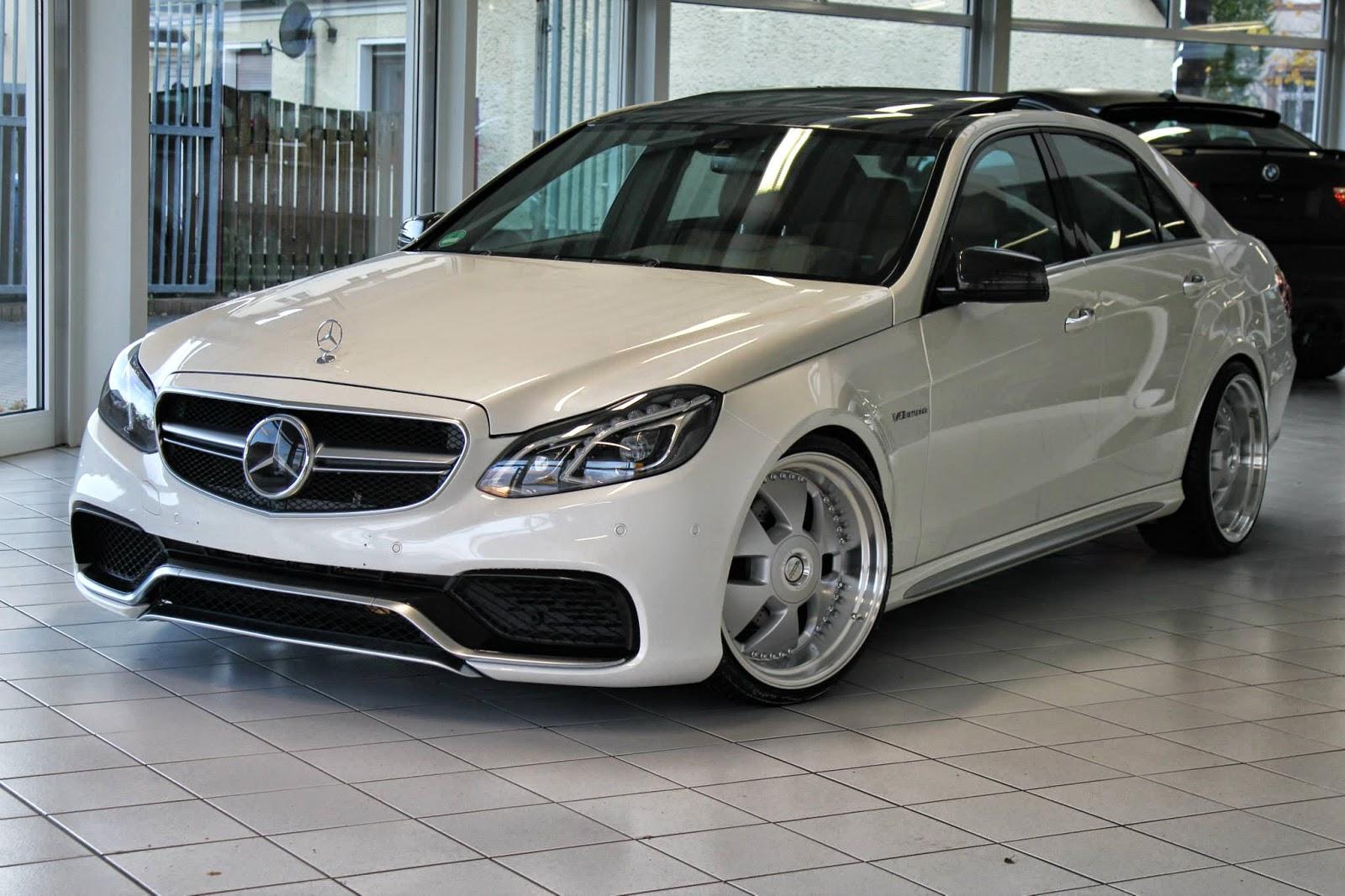 Mercedes benz w212 e63 amg e350 on r20 mae wheels for Mercedes benz rims