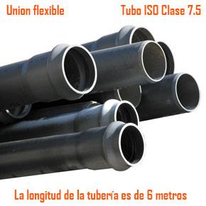 Tubos ISO clase 7.5 - Unión Flexible