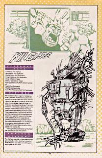 Kilgore (ficha dc comics)