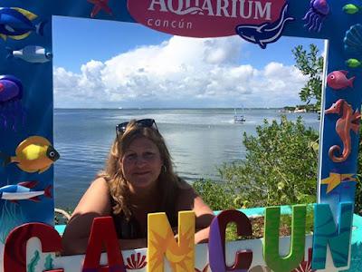 Cancun aquarium.