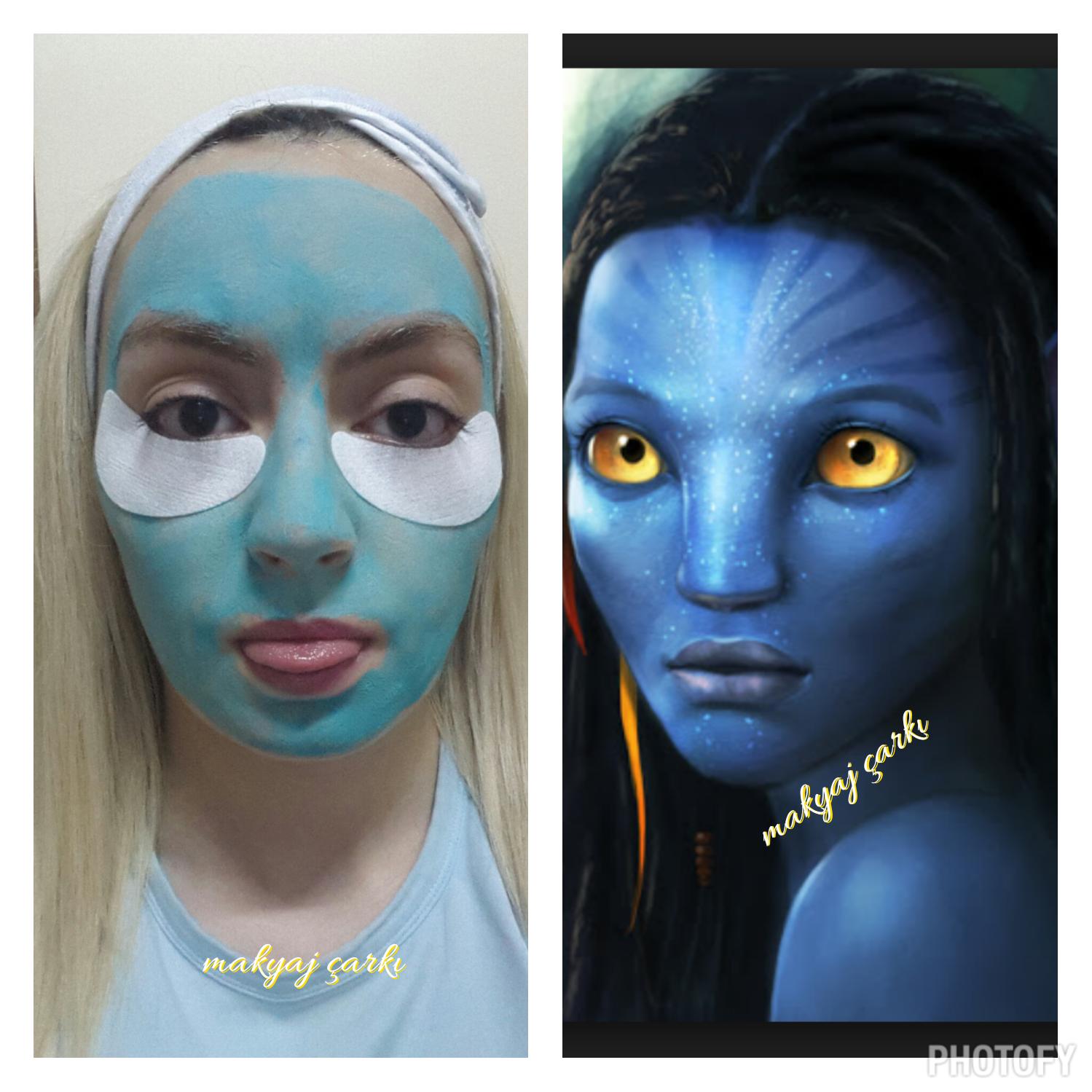 Göz Altı Morluğu İçin Maske