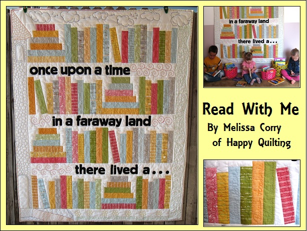Read with me quilt 171 moda bake shop