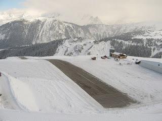 Bandara Courchevel, Prancis, Pegunungan Alpen