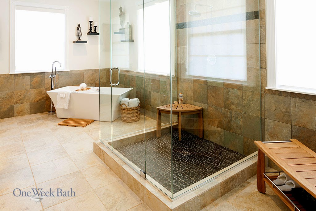 Desain Shower Kamar Mandi Hotel Natural