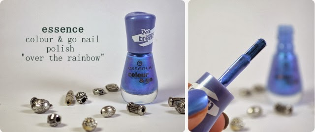 Review essence Neuheit 2014 colour & go Nagellack OVER THE RAINBOW