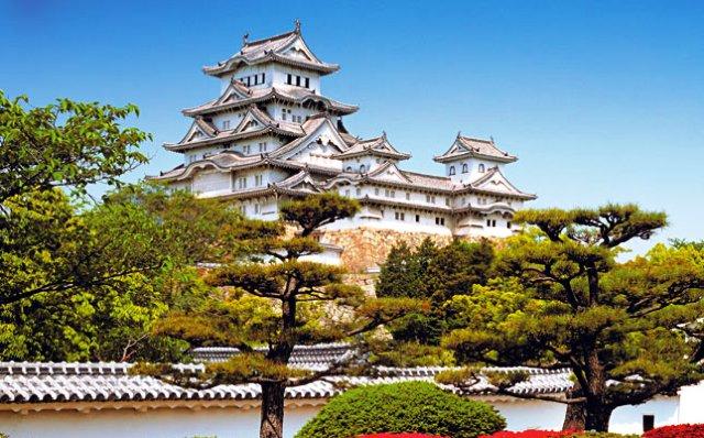 Tempat Wisata Terbaik di Jepang - Kastil Himeji
