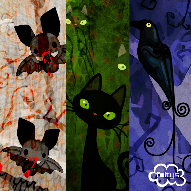 foltys vs halloween is coming: evil pets, 100% handmade with love