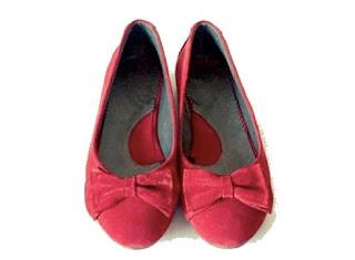 foto pantofi rosii fara toc
