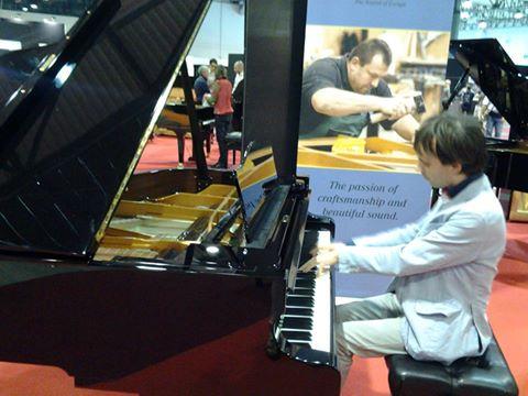 Venturelli Giuseppe.. Pianista Sanremese!