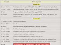 Jadwal Pemilu 2014 PilPres 2014 Pemilihan Umum Legislatif
