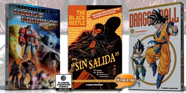 Favoritos Planeta DeAgostini Cómics Abril 2014