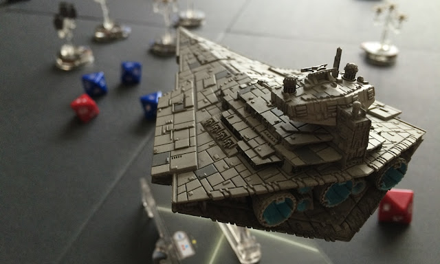 Star Wars Armada Review Movement Template