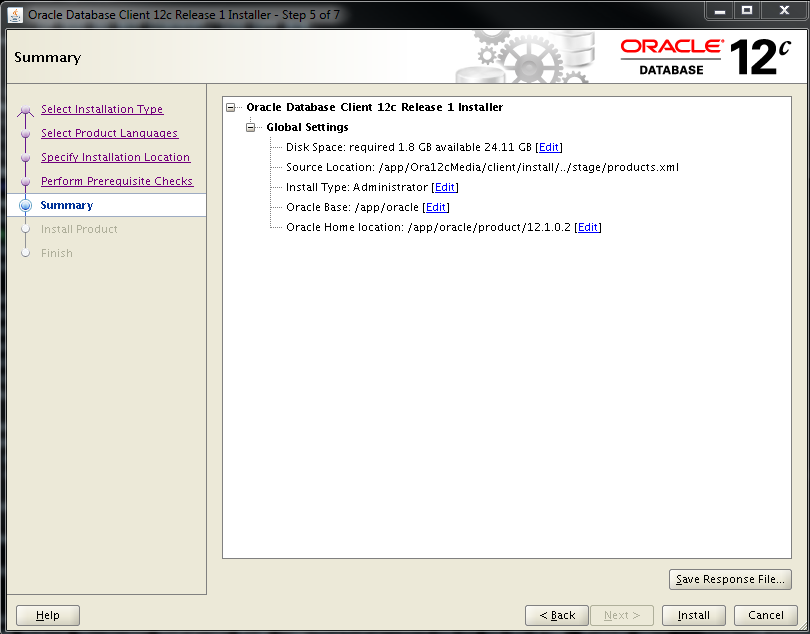 download oracle 12c for linux