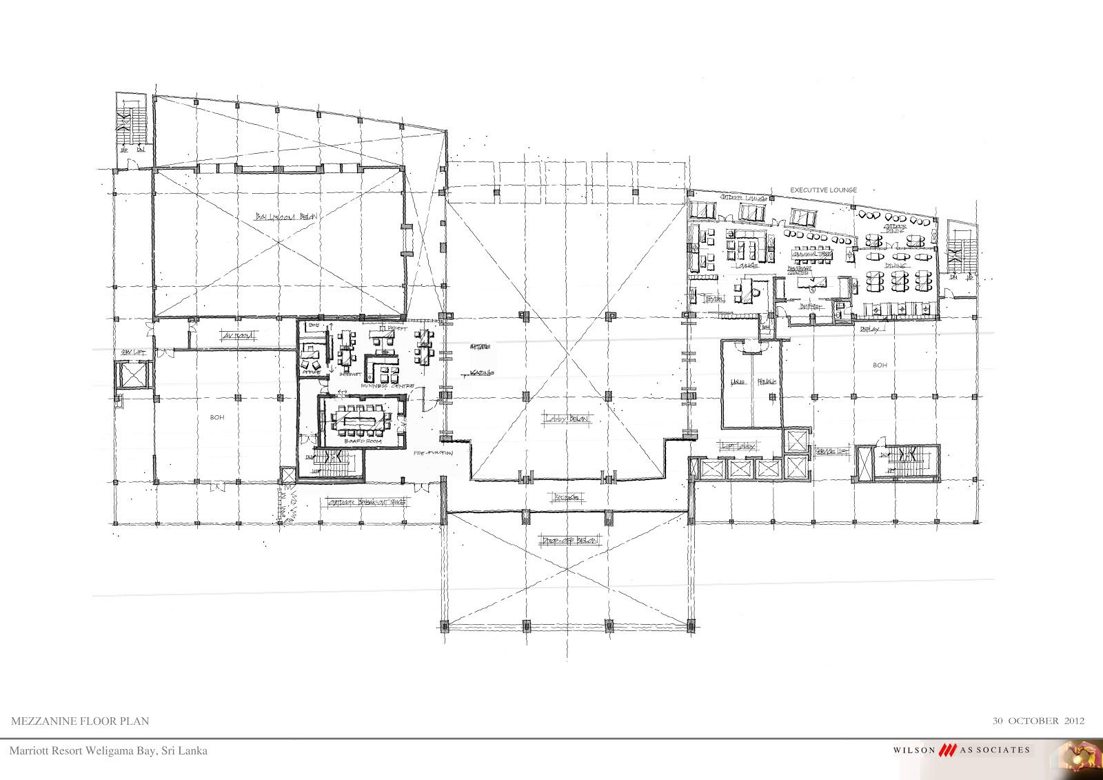 Mezzanine floor concepts marriott resort spa weligama for Mezzanine floor plan