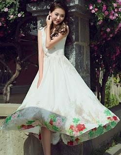 Koleksi dress mewah masa kini desain anggun dan elegan