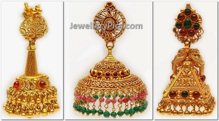 Designer gorgeous jhumkas