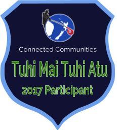 Tuhi Mai Tuhi Atu 2017 Badge