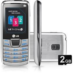 LG A290 Triple SIM Phone