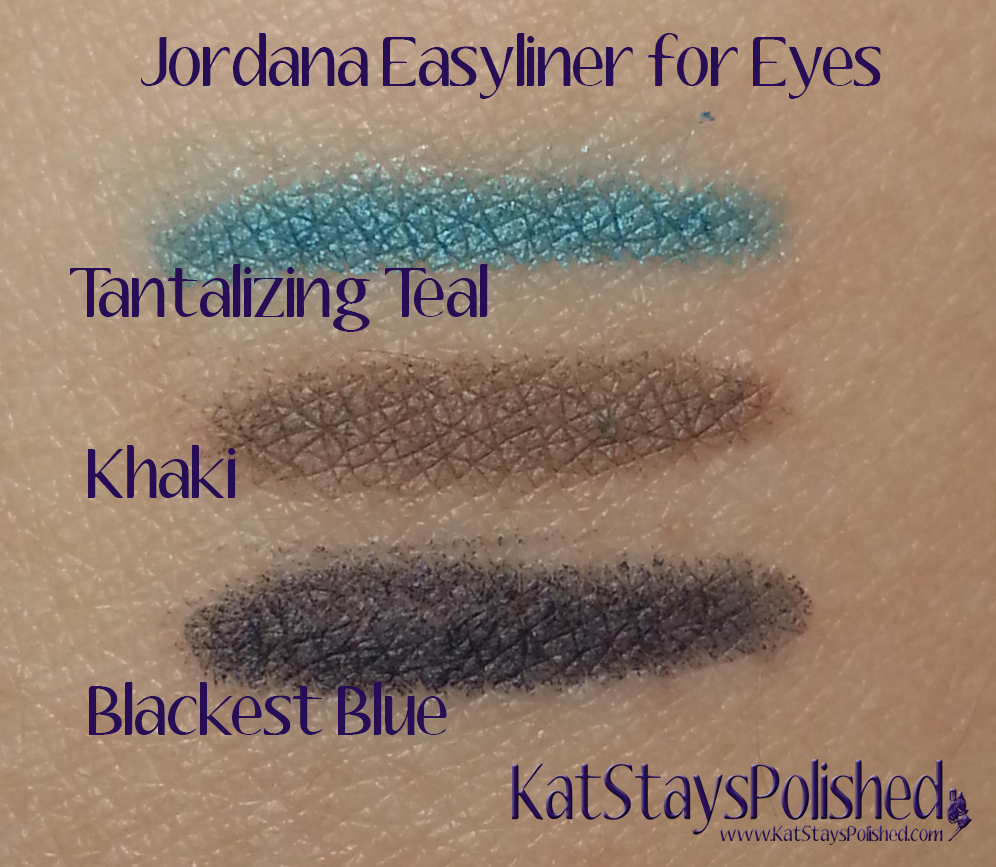 Jordana Easyliner for Eyes | Kat Stays Polished