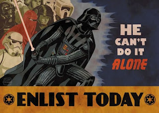 star wars enlist today realism heroic poster cliff chiang