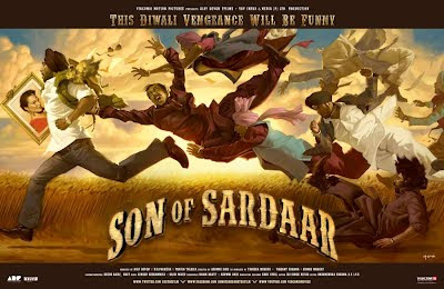 Son Of Sardar 2nd Poster
