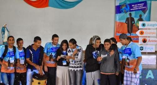 Juventude e Adolescência Missionária da arquidiocese de Brasília realiza encontro
