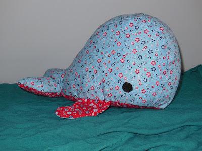 walvis naaien patroon en handleiding