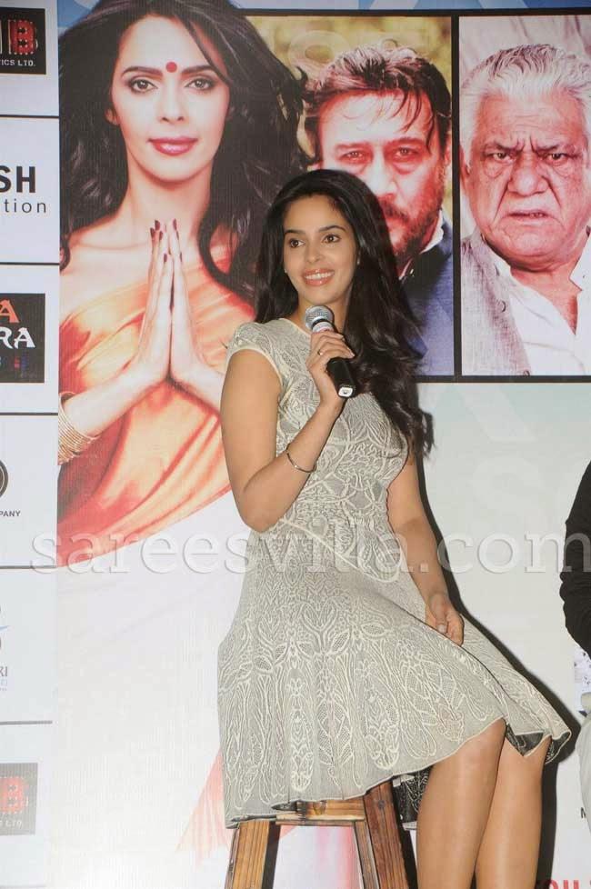 Mallika Sherawat In Short Frock