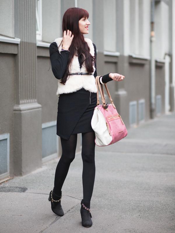 Bild Outfit Fellweste Liebeskind