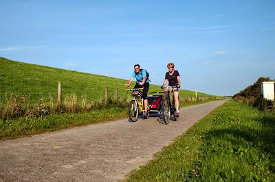 Schöne Radwege in Ostfriesland
