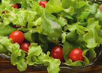 Salada com Molho de Maracujá (vegana)