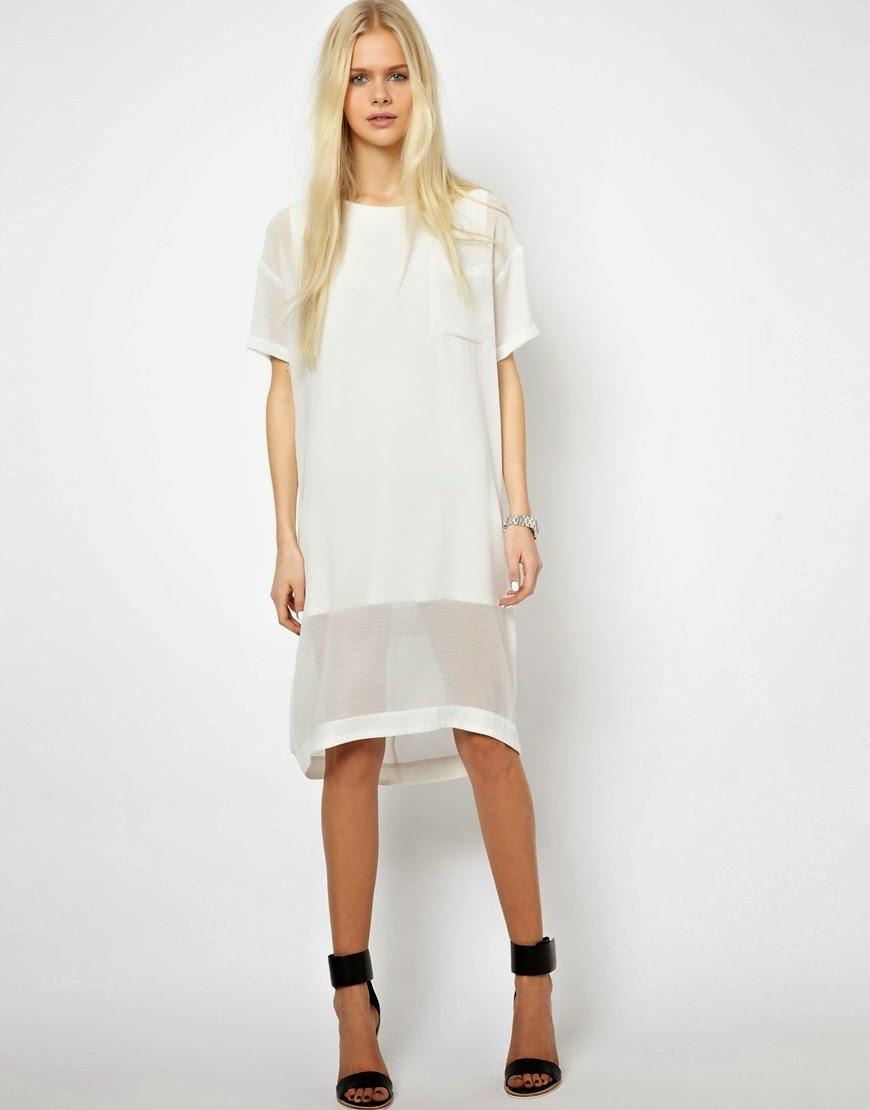 just female white dress