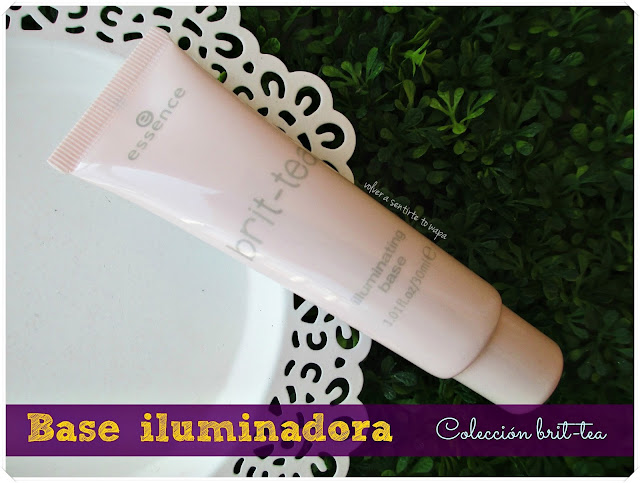 Base iluminadora de Essence - Colección Brit-tea