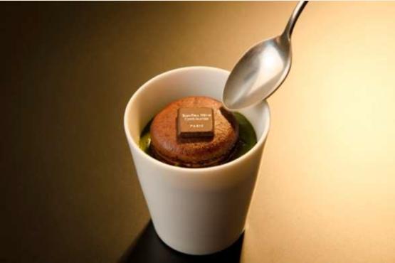 JAL Business Class dessert - Menu BEDD Délice