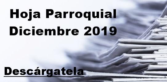 Hoja Parroquial Diciembre 2019