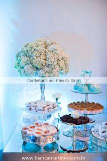 cha amanda 31 Chá de Cozinha Tiffanys inspired !!