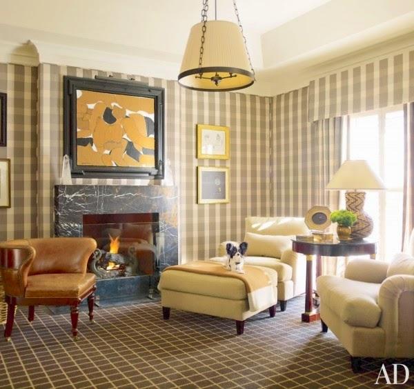 Annaline interior design kraty kratki krateczki for Tartan living room ideas