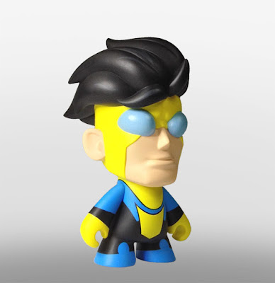 """San Diego Comic-Con 2015 Exclusive Skybound Minis 8"""" Vinyl Figures by Scott Tolleson - Invincible's Mark Grayson"""