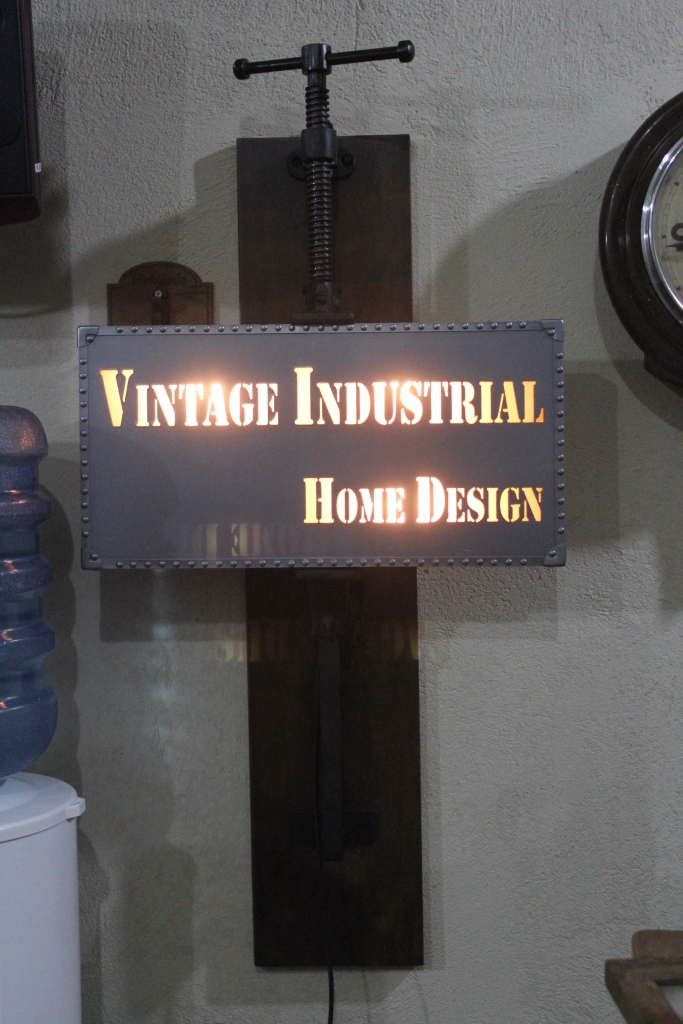 Vintage Industrial Sign - 1