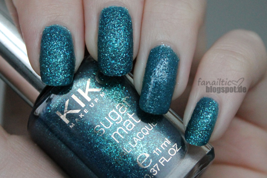 "Kiko ""teal green"" vs essence ""the incredible"""